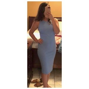 Fashionnova Baby blue dress